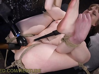 Intense Bondage And Screaming Orgasms