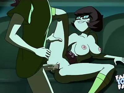 Scooby Doo cartoon sex scene