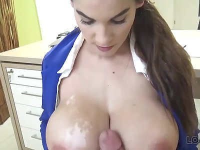 LOAN4K. Lovely model fucks for credit to pay for her plastic surgery