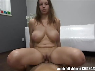 19-Teen D-Tits Girl Firstime Front of Camera