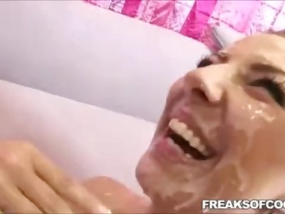 25 biggest unreal cumshots compilation