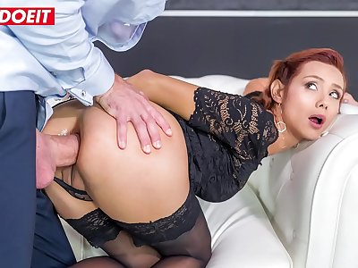 LETSDOEIT - Molten Big Ass Latina Veronica Leal Takes The Best Anal Sex Of Her Life