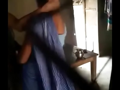 Aunty in saree rapid fuck and blow