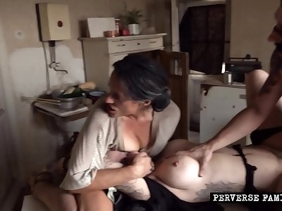 Perverse Family - Big-chested bondage teaser