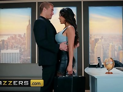 Big Fun bags at Work - (Autumn Falls, Xander Corvus) - Inside-Her Trading - Brazzers