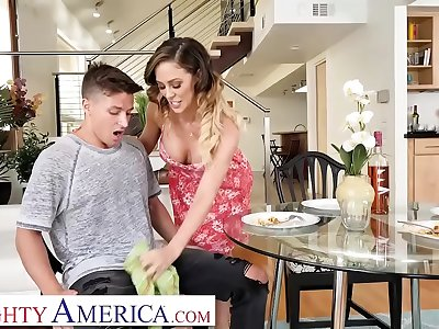 Mischievous America - Cherie DeVille wants some young cock