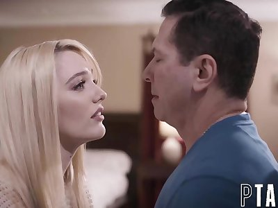 Daughter Kenna James Pleads Step-Father For Creampie To Get Her Pregnant