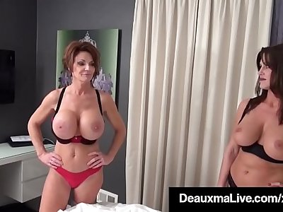 Smoking Cougars Deauxma & Taylor Ann Fuck Patient For Money!