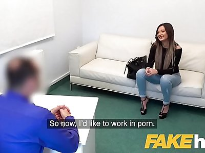 Faux Agent Sexy tattooed Ukrainian honey loves deepthroat and fucking