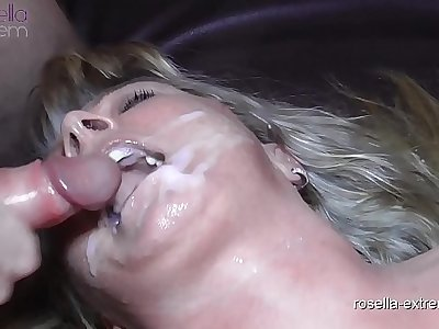 Teen woman Laura and Cougar Rosella in the fuck and cum hell! Part 8